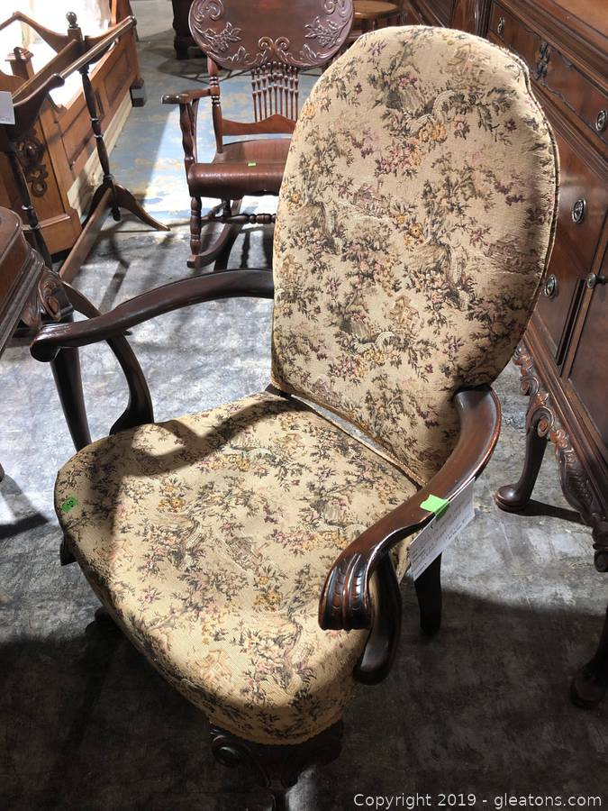 Groovy Gleatons The Marketplace Auction High End Antique Gamerscity Chair Design For Home Gamerscityorg