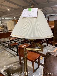 Gold Adjustable Floor Lamp