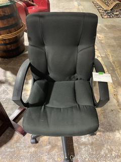 Black Rolling Desk Chair
