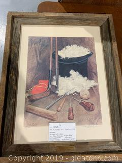 R.Loehle Art-Signed and  Numbered