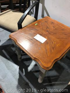 Living Room Oak Side Table