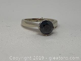 1.5 Carat Chocolate Diamond Engagement Ring