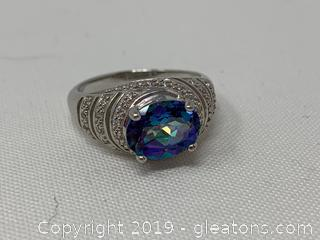 Mystic Topaz Cocktail Ring