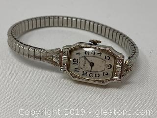 Gruen  Ladies Wrist watch Vintage diamond