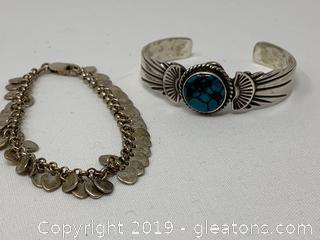Sterling Bracelet Lot