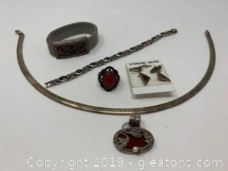 Sterling Jewelry set