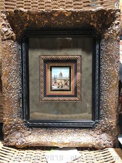 Framed European Cityscape
