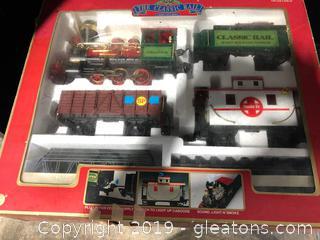 Classic Rail Train Set