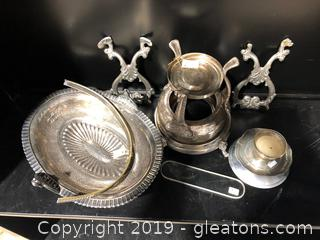 Miscellaneous Silver Plated Items