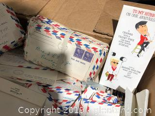 Very Large Assortment of Handwritten Letters