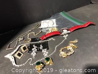 Shiny Costume Jewelry
