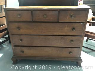 Rustic Antique Chest of Drawers