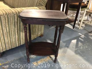 Antique  Side Table Great Condition
