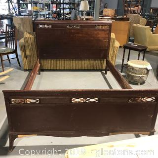 Antique Bed (Queen Size)