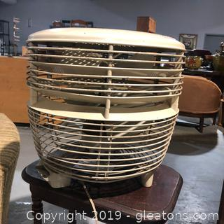 General Electric Floor Fan Works