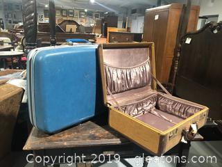 Vintage Hard Side Luggage