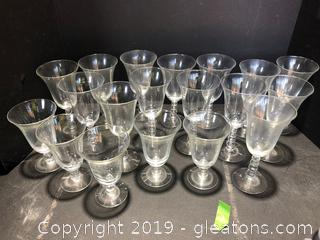 Imperial Candlewick Water Goblets