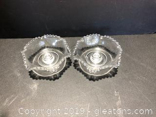 Pair Of Matching Candle Holders