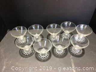 9 Sherbert Cups