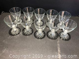 Imperial Candlewick Crystal Dishes
