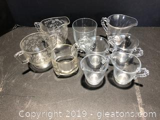 Imperial Candlewick and Other Glassware