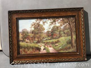 Nice Wooden Frame Painting