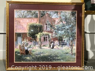 Impressionistic View of the Past for Your Wall
