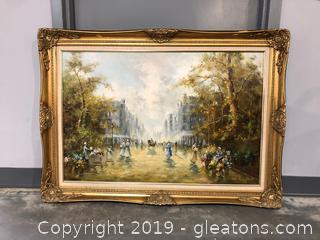 Large Fine Art Original Oil Landscape