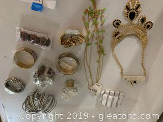 """Lot of """"New - Old"""" Stock Costume Jewelry"""