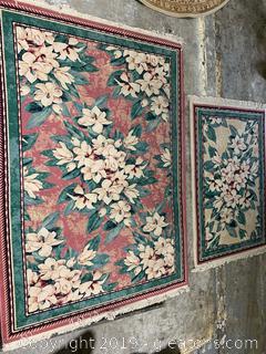 Vintage Oriental Rug Set