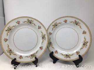 Pair of Morisama Plates