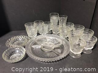 Vintage Cut Glass Lot