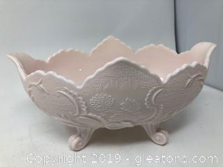 A Rare Vintage Large Footed Bowl or Dish