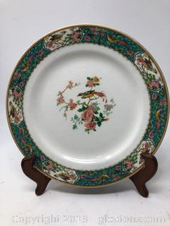 English Porcelain W. H. Grindley and Co Plate