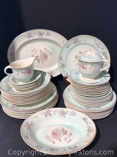 Rare Limoges Porcelain China Set