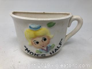 Rare Vintage Made in Japan ½ Cup