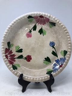 Vintage MT Vernon Plate