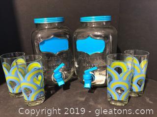 Unique Tea Urns and Glasses