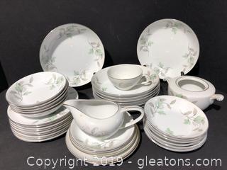 Vintage Gold Trimmed Porcelain China