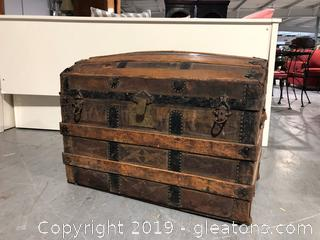 Antique Dome Trunk