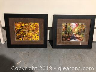 Pair of Forest Prints