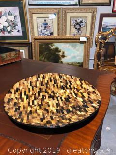 Tunis Horn Mosaic Plate