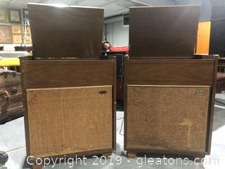 Vintage Stereo 2 pc
