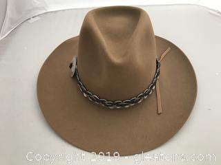 Vintage Western Hat,  Size XXXX