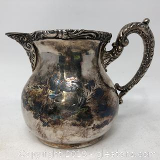 Silver Plated Handled Creamer