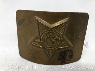 Vintage Russian Belt Buckle