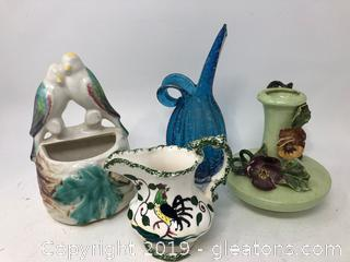 Mixed Porcelain and Glass Lot