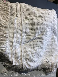 Vintage White Comforter