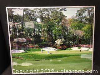 Signed Original of The PGA World Cup Tour in Atlanta