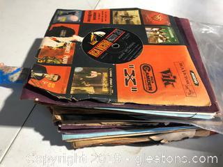 Lot of Vinyl 45's Records